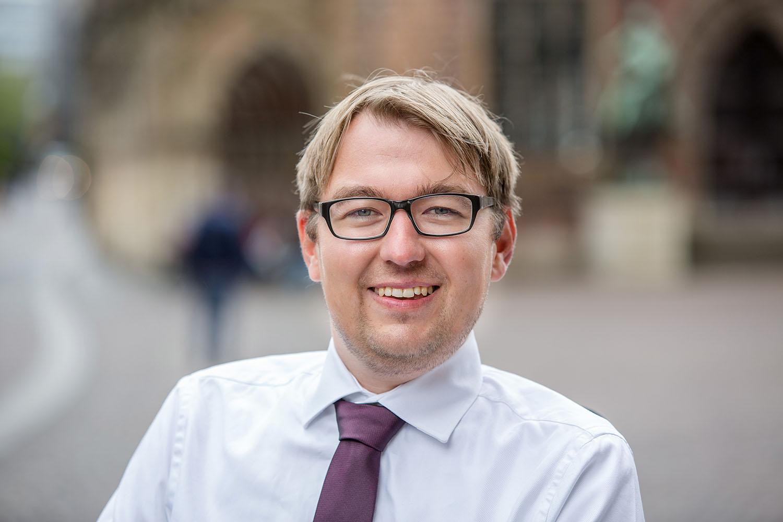 Arne Frankenstein, der Landesbehindertenbeauftragte der Freien Hansestadt Bremen.
