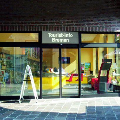 Die Tourist-Info in der Bremer Innnenstadt; Quelle: protze + theiling GbR