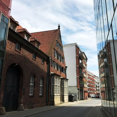 Das historische Gebäude der Architektenkammer; Quelle: WFB - JUA