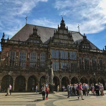 Das Bremer Rathaus. Quelle: JUA / privat