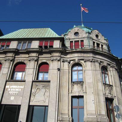Fassade der Stadtsparkasse Am Brill; Quelle: protze + theiling GbR