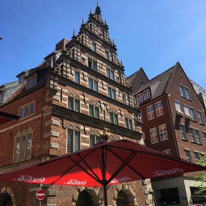 Fassade der Bremer Stadtwaage; Quelle: WFB - HM