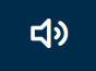 Symbolische Darstellung eines Lautsprechers, aus dem Geräusche kommen.
