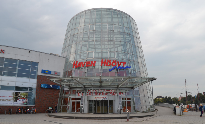 Das Einkaufszentrum Haven Höövt.