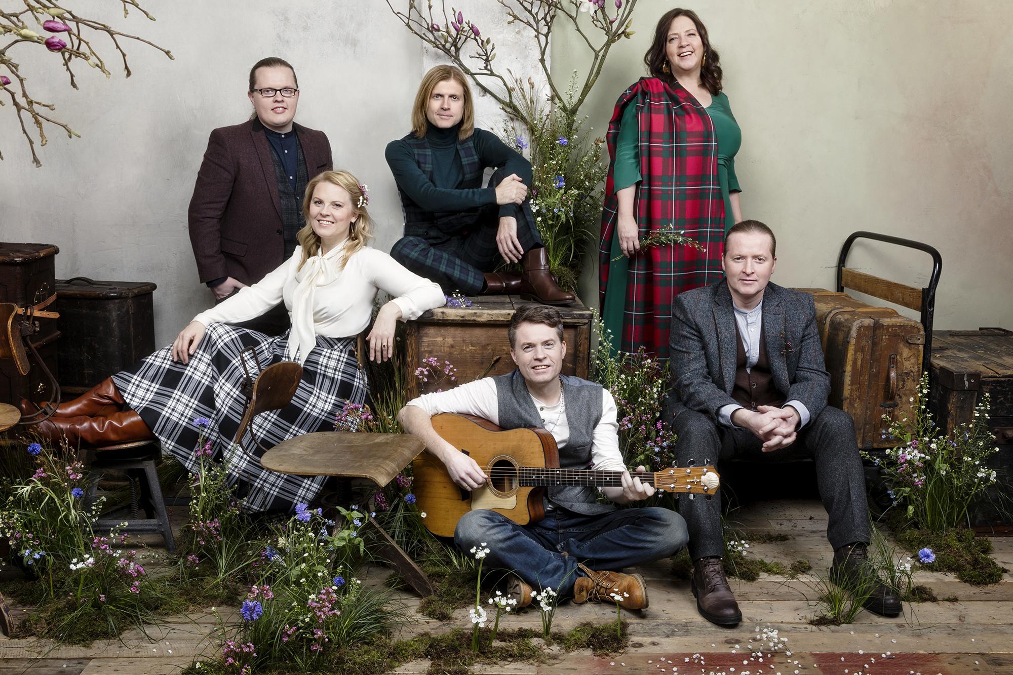 Pressefoto der Kelly Family für ihre We Got Love Tour.