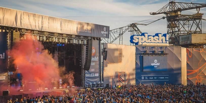 Das Splash! Festival in 2016 mit der Snipes Hauptbühne