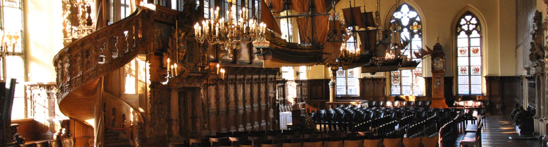 Obere Rathaushalle im Bremer Rathaus (Quelle: Senatskanzlei Bremen)