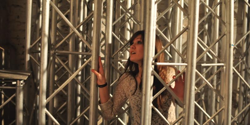 """Fotoshooting Teilnehmerin bei """"La Pasarela"""" <br />"""