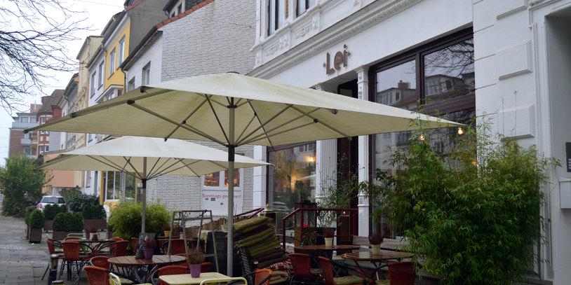 Café Lei im Viertel Außenansicht