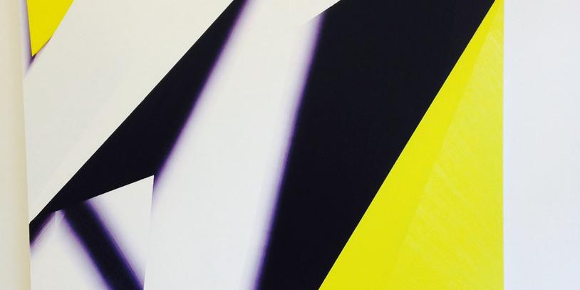 """Das Gemälde """"Foldaway"""" von Jussi Niva aus dem Jahr 2014."""
