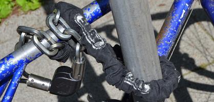Fahrradschloss in der Nahaufnahme; Quelle: bremen.online GmbH - MDK
