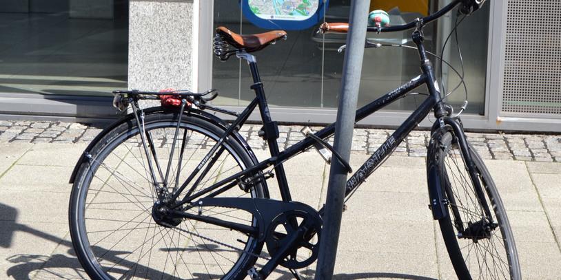 Abgeschlossenes Fahrrad; Quelle: bremen.online GmbH - MDR