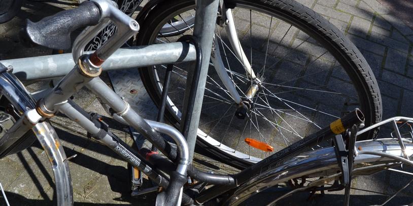 Angeschlossener Fahrradrahmen, gestohlene Räder; Quelle: bremen.online GmbH - MDR