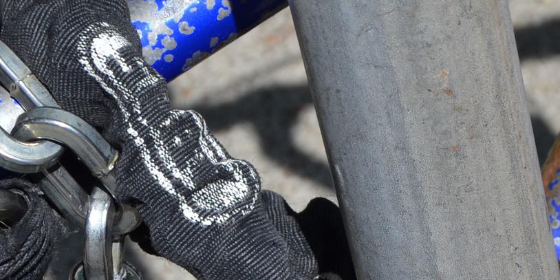 Fahrradschloss in der Nahaufnahme; Quelle: bremen.online GmbH