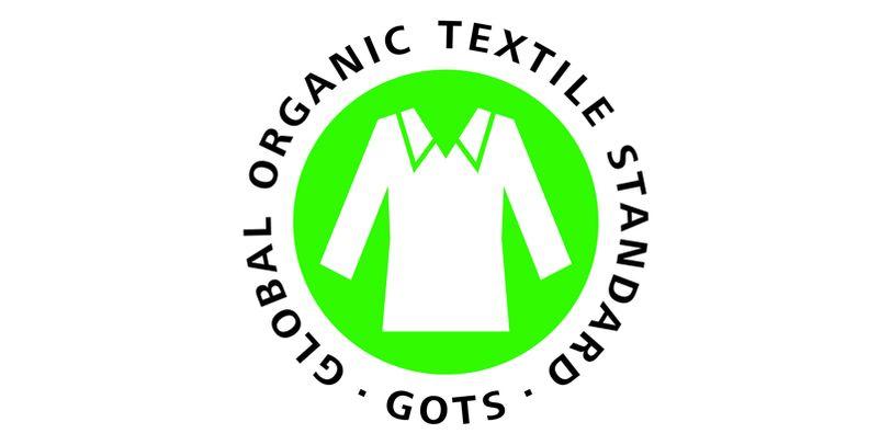Das Siegel des Global Organic Textile Standard.
