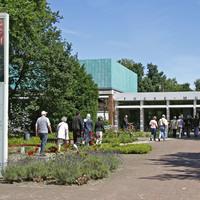 Eine Außenaufnahme des Haupteingangs zum Focke Museums.
