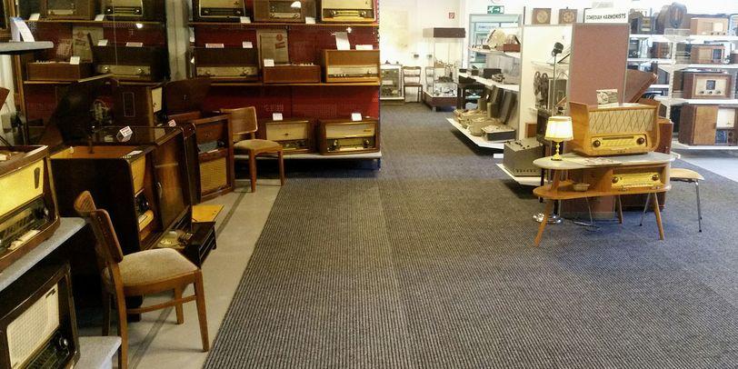 Raum 1 des Rundfunkmuseums.