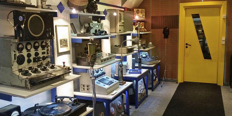 Raum 4 des Rundfunkmuseums.