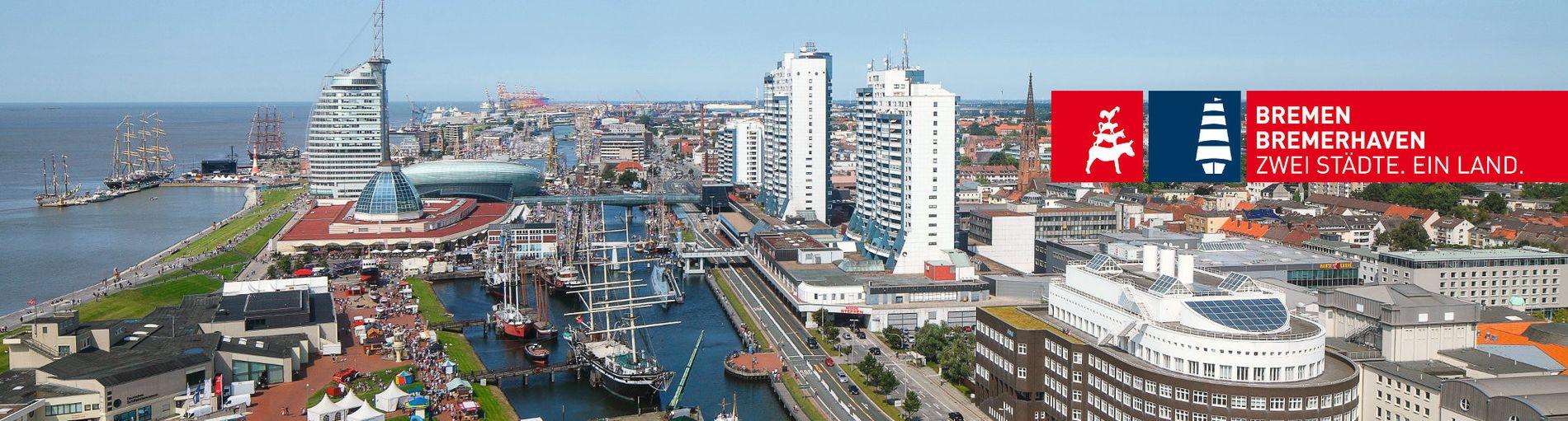 Bremerhaven aus der Luft