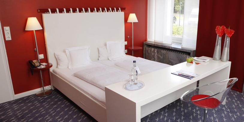 """Ein Zimmer im Hotel """"Strandlust Vegesack"""""""