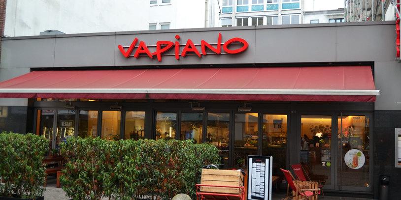 Vapiano Restaurant Außenansicht