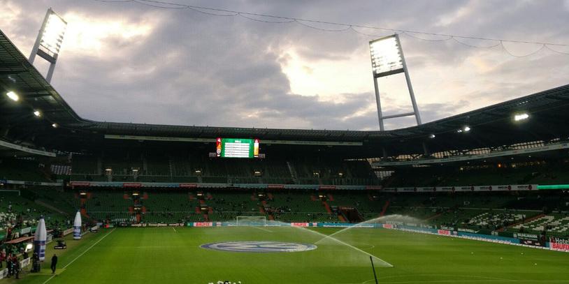 Das Weserstadion.