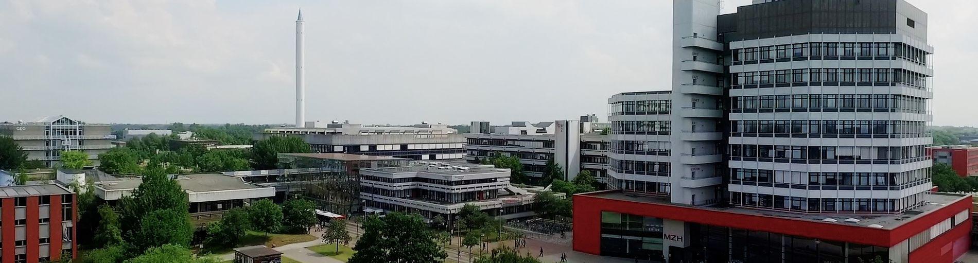 Der Campus der Universität Bremen