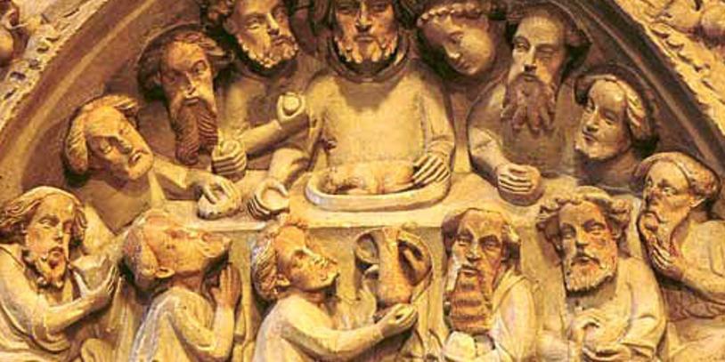 Abbildung des Abendmahls