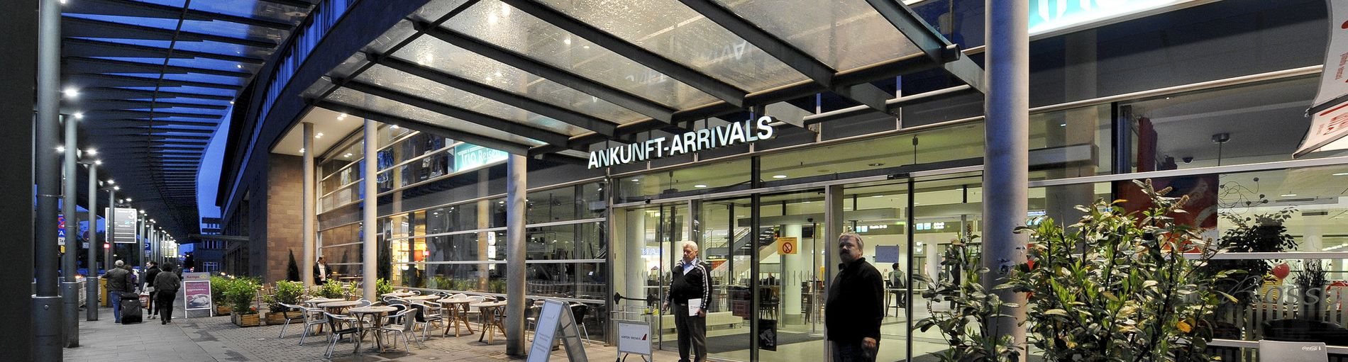 Außenaufnahme des Bremen Airport