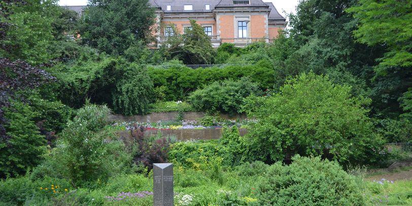 Garten von Albrecht Roth im Stadtgarten Vegesack