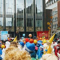 Kostümträger des Bremer Karnevals