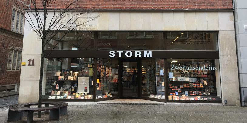 Außenansicht Buchhandlung Storm
