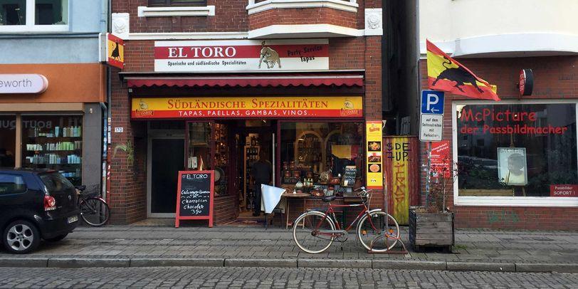 Das Feinkostgeschäft El Toro im Bremer Viertel