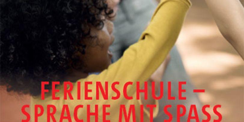 Flyerbild - Ferienschule, Sprache mit Spaß