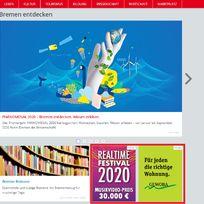 Screenshot von bremen.de