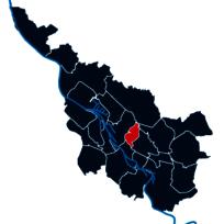 Stadtteilpolygon von Findorff