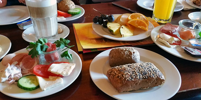 Frühstück im Café del Sol
