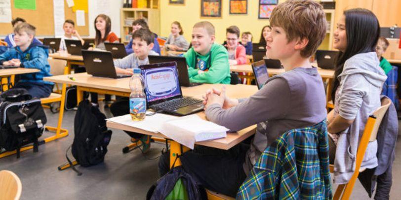Gehört an vielen Schulen zur Normalität: Bildung in der Digitalen Welt.