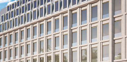 Entwurf des neuen Gebäudes für Harms am Wall