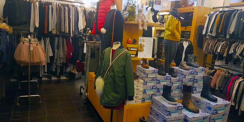 """Das """"Kaengeru"""" in der Böttcherstraße bietet modische Kinderbekleidung und Accessoires."""