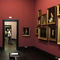 Blick in einen Ausstellungsraum in der Kunsthalle Bremen