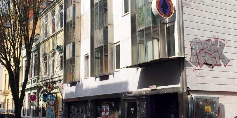 """Der Club """"Lila Eule"""" im Bremer Viertel"""