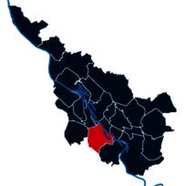 Umriss des Stadtteils Neustadt