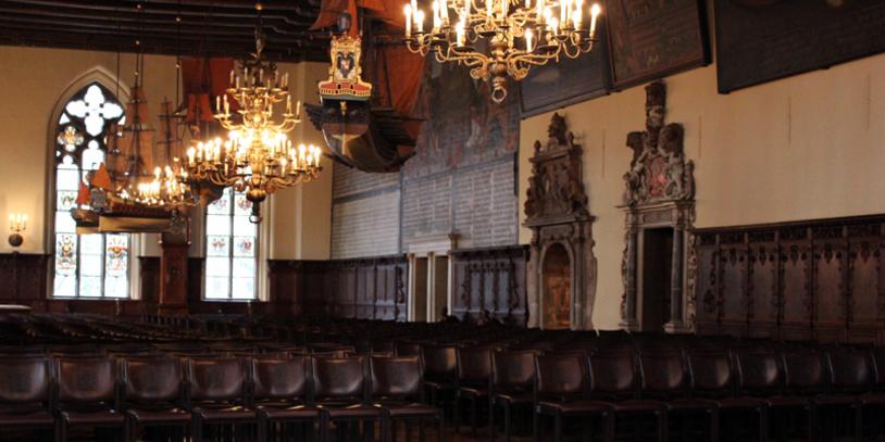 Obere Halle im Rathaus