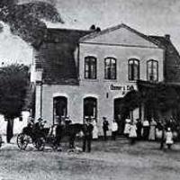 Osmers Café in Huchting um 1917