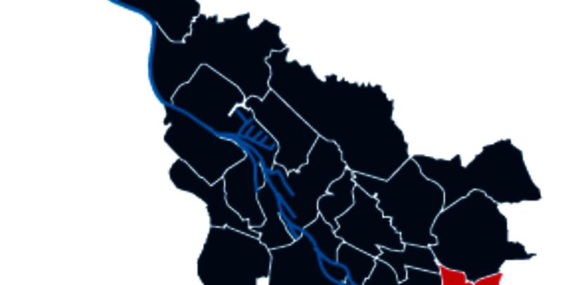 Stadtteilpolygon von Osterholz