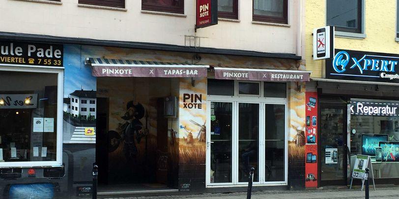Das Restaurant Pinxote in Bremen