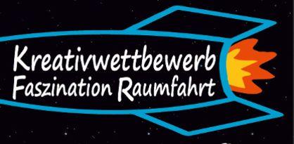 Rakete mit Schriftzug auf schwarzem Hintergrund