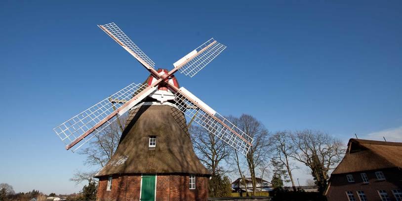 Rekumer Mühle im Winter