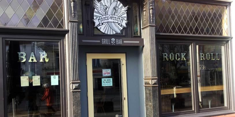 Fassade des Restaurants Rock & Wurst